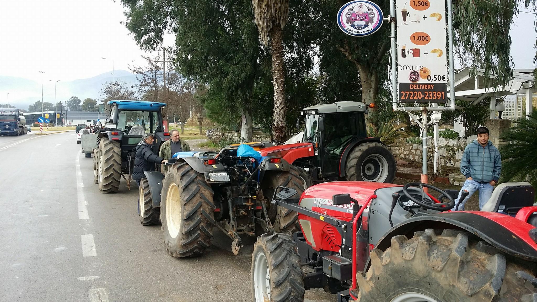 Ξεκίνησαν οι αγροτικές κινητοποιήσεις στη Μεσσήνη