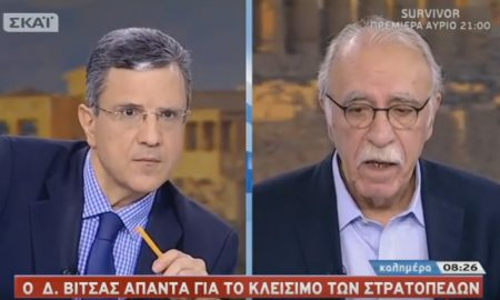 """Βίτσας για αναδιοργάνωση στρατοπέδων: """"Θα ευνοηθεί η Καλαμάτα"""""""