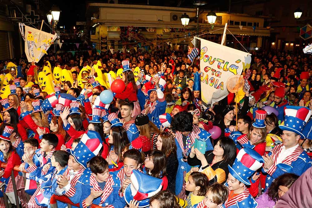 6o Kαλαματιανό καρναβάλι: Το λάβαρο στο Δήμαρχο