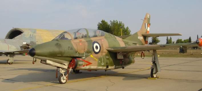 Εκπαιδευτικό αεροσκάφος της 120 ΠΕΑ έπεσε στον Μπουρνιά! Σώοι οι πιλότοι