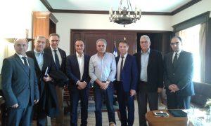 Συνάντηση Σκουρλέτη με τους προέδρους των Περιφερειακών Συμβουλιών