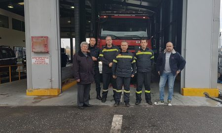 «Αutovision-ΚΤΕΟ Ηλιόπουλος»: Δωρεάν έλεγχο στα οχήματα της Πυροσβεστικής