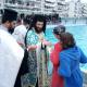 Ο αγιασμός των υδάτων στο Κολυμβητήριο Καλαμάτας