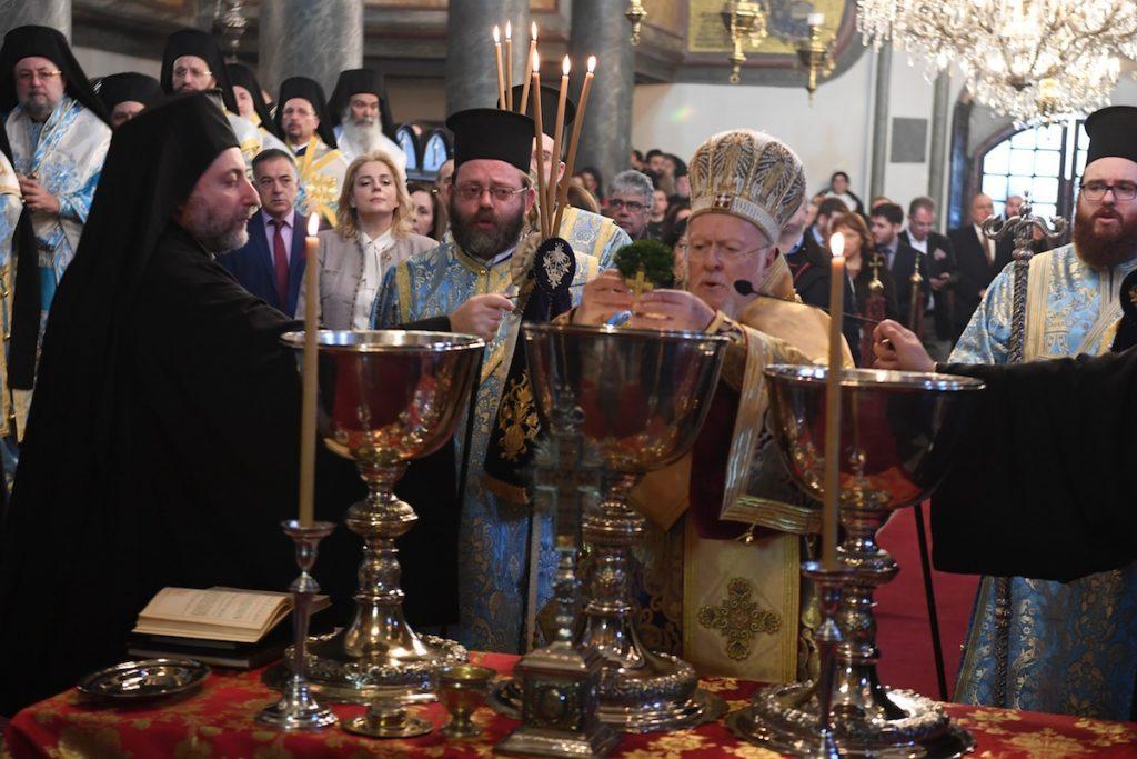 Τα Άγια Θεοφάνεια στο Οικουμενικό Πατριαρχείο