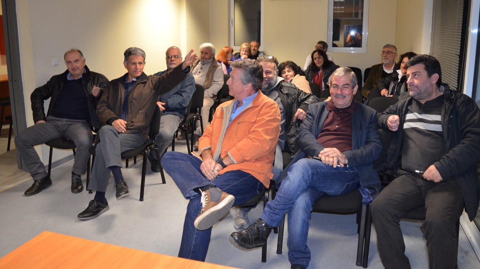 Συνεδρίασε η Επιτροπή Αλληλεγγύης κατά των πλειστηριασμών