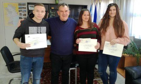 Ο Δήμος Μεσσήνης βράβευσε τα παιδιά που πρώτευσαν στις Πανελλαδικές