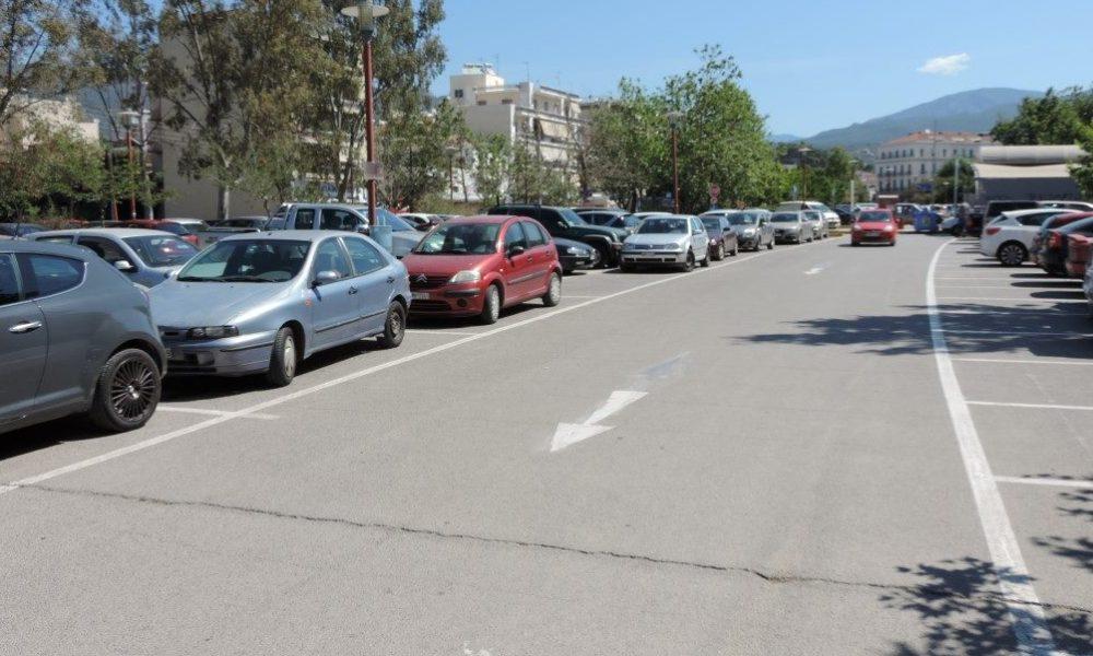 Ιδιώτης στα Δημοτικά πάρκινγκ Καλαμάτας από 1η Φεβρουαρίου