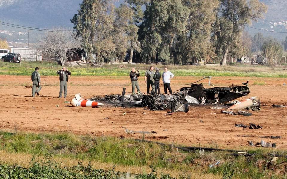 40 χρονών το πολεμικό αεροσκάφος που συνετρίβη στον Μπουρνιά!