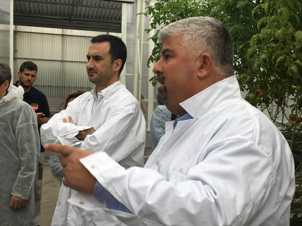 Μεσσηνιακές επιχειρήσεις επισκέφτηκε ο Αλέξης Χαρίτσης