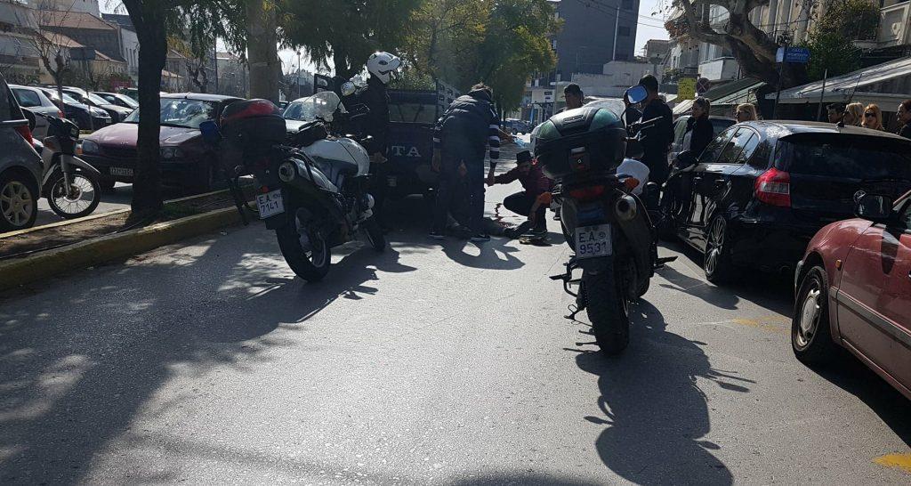 Καλαμάτα: Τροχαίο με τραυματισμό οδηγού μηχανής