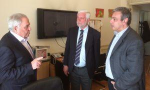 Συνάντηση Τατούλη – Βερναδάκη – Φλαμπουράρη ενόψει του Περιφερειακού Αναπτυξιακού Συνεδρίου Πελοποννήσου