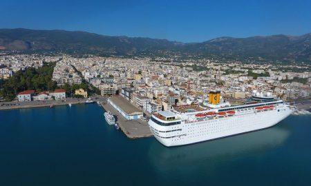 Λιμάνι Καλαμάτας: Δείτε πως καταγράφηκε η κίνηση του λιμανιού το 2017
