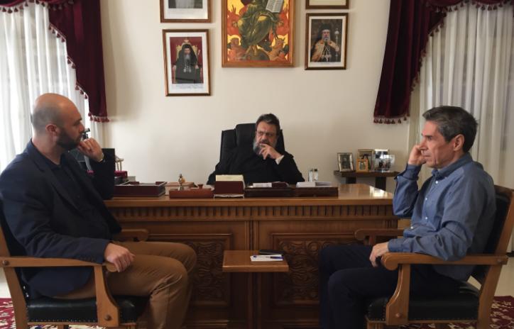 Στον Μητροπολίτη Μεσσηνίας κυβερνητικό κλιμάκιο εν όψει του Αναπτυξιακού Συνεδρίου