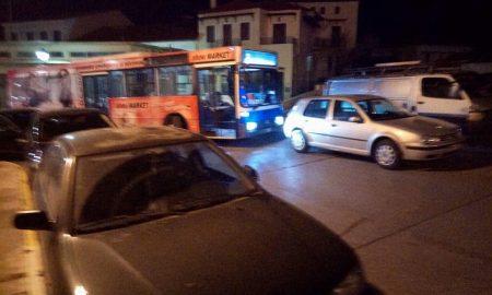 """Μιάμιση ώρα """"μπλοκαρισμένο"""" το λεωφορείο του Αστικού ΚΤΕΛ!"""