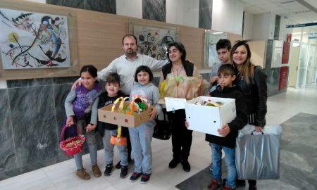 Πασχαλινά δώρα από το Ειδικό Σχολείο Καλαμάτας στα παιδιά της Παιδιατρικής