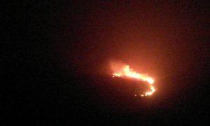 20 στρέμματα έκαψε η φωτιά στη Μεταμόρφωση