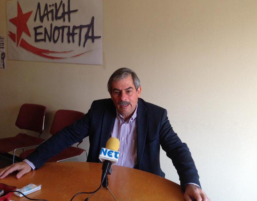 """Πετράκος: """"Να παρέμβει ο Εισαγγελέας για την πρόκληση των φασιστών της Χ.Α."""""""
