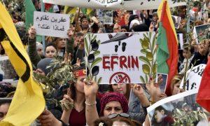 """""""Η κτηνωδία των Τούρκων στο Αφρίν και η δυνατή σιωπή της Ε.Ε"""""""