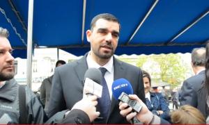 """Κωνσταντινέας: """"Ενωμένοι μπορούμε να αντιμετωπίσουμε κάθε εξωτερικό κίνδυνο χωρίς να φοβηθούμε τίποτα και κανέναν"""""""