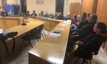 Συνάντηση Ξυγκώρου με εκπροσώπους των επαγγελματικών συλλόγων Μάνης