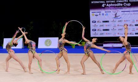 """Εξαιρετικές εντυπώσεις από την Εθνική ανσάμπλ στην πρεμιέρα του 4ου """"Aphrodite Cup"""" (video)"""