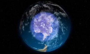 Μείωση της έκτασης της «Τρύπας του όζοντος» στην γήινη ατμόσφαιρα