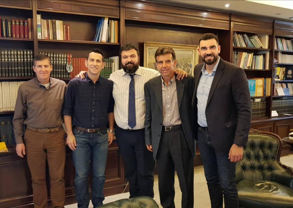 Συνάντηση του ΣΔΥΜ με τον Υφυπουργό Αθλητισμού