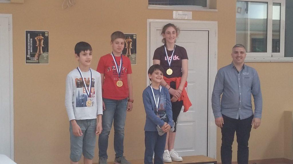 Σκάκι: Μεγάλη η επιτυχία του 1ου Τουρνουά «ΑΚΟΒΙΤΙΚΑ»