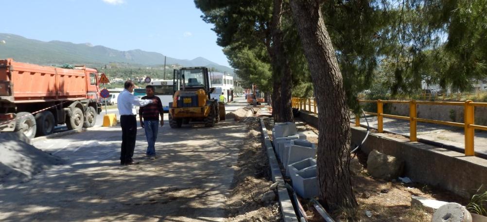 Aρτέμιδος: Συνεχίζονται οι εργασίες αναβάθμισης στο βόρειο τμήμα της