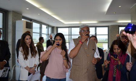 Το Μεσσηνιακό ελαιόλαδο γοήτευσε τον Ινδό Υπουργό Γεωργίας