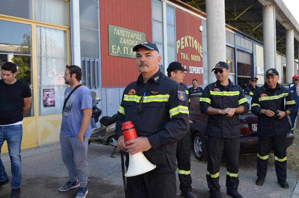 Άσκηση της Πυροσβεστικής Καλαμάτας στο ΒΙΟ.ΠΑ.