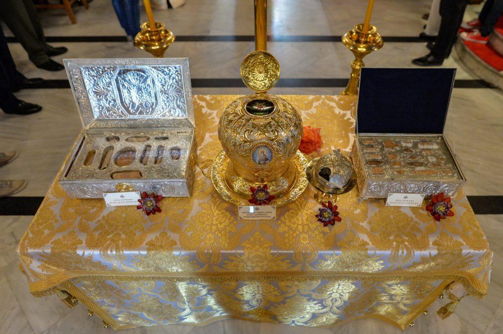 Λαμπρός εορτασμός των Μεσσηνίων Αγίων στην Καλαμάτα