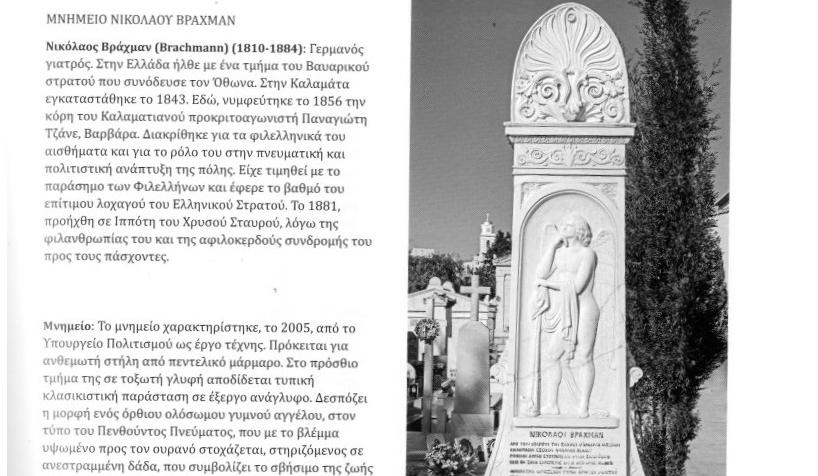 """""""Τα γλυπτά μνημεία του Κοιμητηρίου Καλαμάτας"""" στο ΚΕΠ του Δήμου Καλαμάτας"""