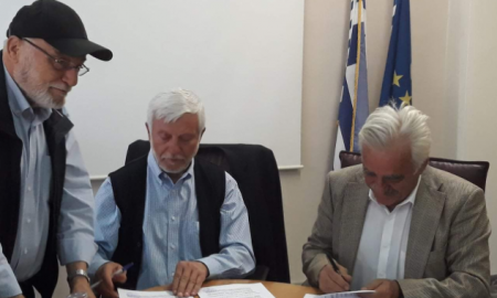 """Τατούλης: """"Σπουδαίο γεγονός για την Τριφυλία η υπογραφή της σύμβασης του λιμανιού Κυπαρισσίας"""""""