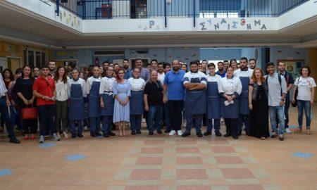 ΙΕΚ ΟΡΙΖΩΝ: Ο Ηλίας Μαμαλάκης μύησε τους σεφ στα μυστικά της σωστής επιλογής ψαριών