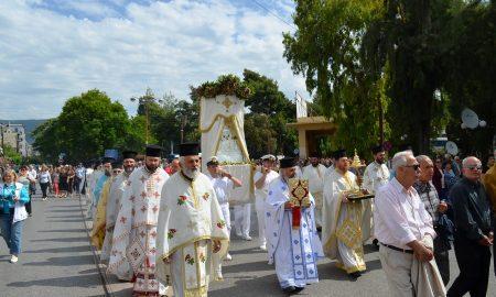 Πλήθος κόσμου και φέτος στην εορτή της Αναλήψεως στην Καλαμάτα