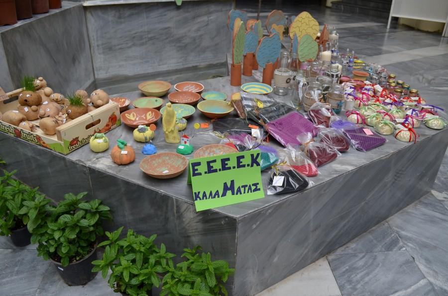 ΕΕΕΕΚ: Ξεκίνησε το εαρινό μπαζάρ στο Πνευματικό