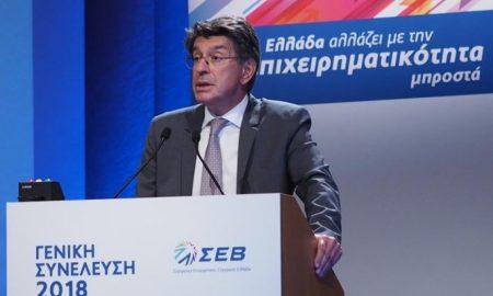 Φέσσας: Επενδύσεις 45 δις ευρώ ετησίως είναι η συνταγή για την ανάπτυξη της οικονομίας
