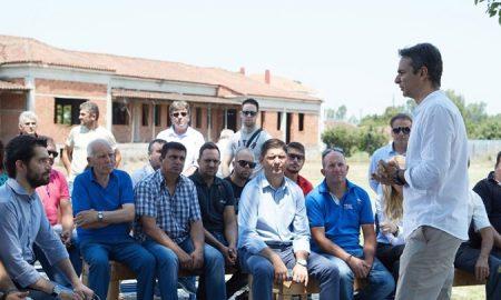 ΝΔ: Περιοδεία σε επιχειρήσεις και αγρότες της Μεσσηνίας το Σάββατο 23/6