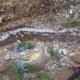 Μάκαρης: Σκουπίδια και μαύρα νερά κυλούσαν προς το Νέδοντα στους 5 Δρόμους!