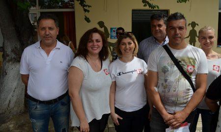 """7ο Δημοτικό Σχολείο Καλαμάτας: Ιδρυση Τράπεζας Αίματος """"Σταγόνα ζωής"""""""