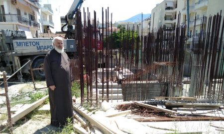 Aγία Αικατερίνη: Πιο εντατικοί ρυθμοί στην ανέγερση του Ναού