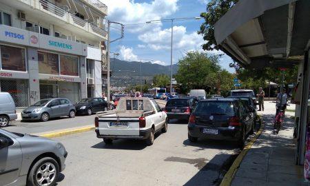 Κυκλοφοριακό κομφούζιο λόγω έργων στην οδό Αρτέμιδος