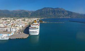 Έρχεται το πρώτο κρουαζιερόπλοιο της σεζόν στο Λιμάνι Καλαμάτας