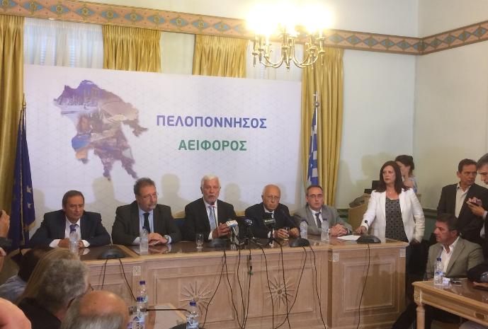 Υπογράφηκε η σύμβαση Περιφέρειας-ΤΕΡΝΑ για τα σκουπίδια παρουσία Πιτσιόρλα