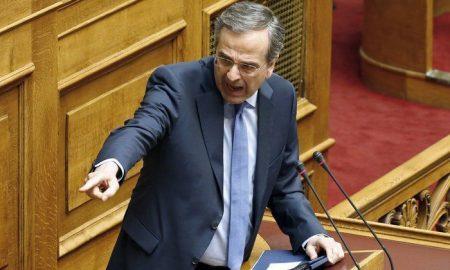Αντώνης Σαμαράς: «Tα δώσατε όλα σε μυστική διπλωματία, έχετε γίνει Σκοπιανότεροι των Σκοπιανών»