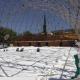 Συνεργείο Ιταλών τεχνικών στην Τέντα- Έτοιμο το νέο κάλυμμα για τοποθέτηση!