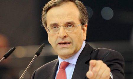 Αντώνης Σαμαράς: «Ανιστόρητη σύμπλευση Τσίπρα – Παυλόπουλου»