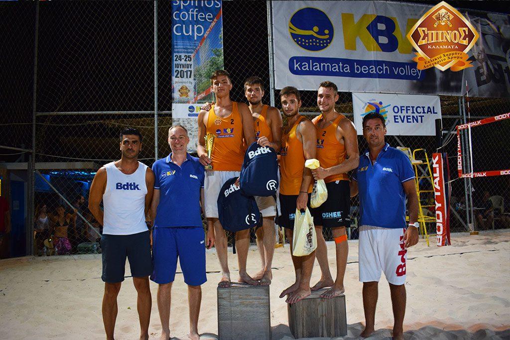 Το τουρνουά beach volley «ΣΠΙΝΟΣ Open» γίνεται θεσμός!