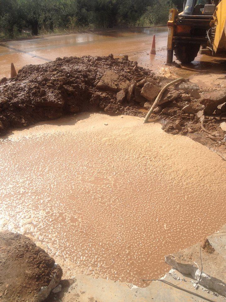 Νερό με το σταγονόμετρο στη Βέργα λόγω σοβαρής βλάβης